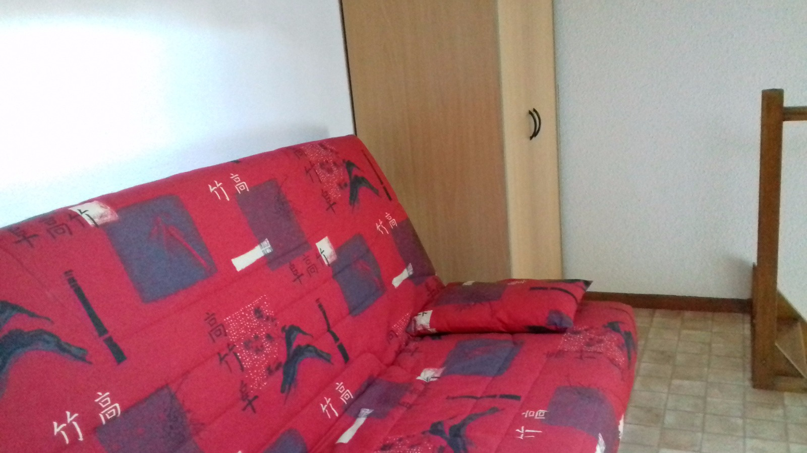 Mezzanine avec canape convertible