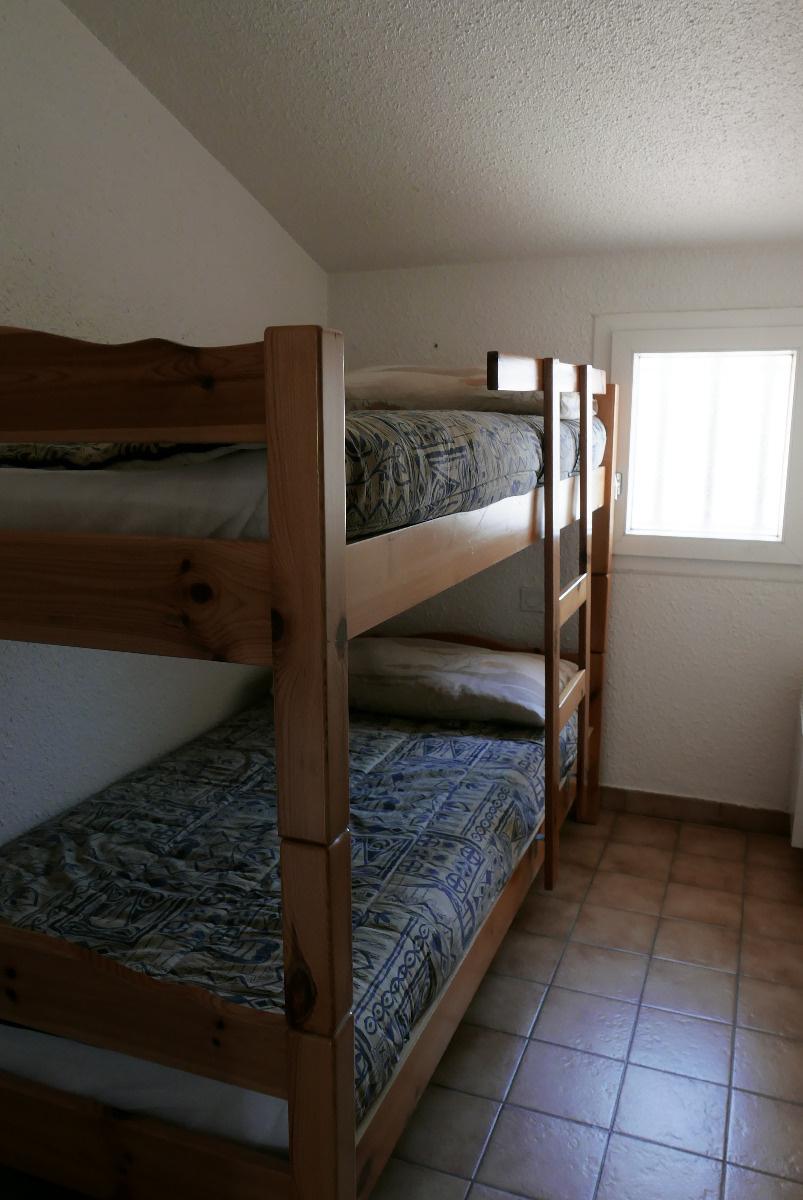 Chambre a l'etage avec lit en 80*
