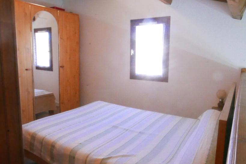Chambre mezzanine avec lit en 140*